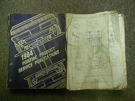 1984 Pontiac Fiero Product Publications Service Repair Shop Manual OEM S... - $19.79