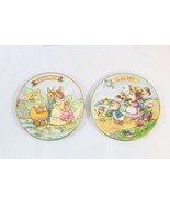 1991 & 1993 AVON COLLECTIBLE EASTER PLATES  WITH 22 KARAT GOLD TRIM - $19.75