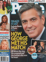 People Magazine  How George Met His Match May 12, 2014 - $1.75