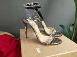 Christian Louboutin Leopard Jonatina 100MM Sandals New - $869.00
