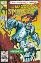 Amazing Spiderman #371 ORIGINAL Vintage 1992 Marvel Comics Black Cat  - $18.51
