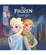 Elsa's Gift by Disney Book Group Staff (2014, Board Book) - $4.75