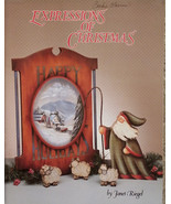 Expressions of Christmas By Janet Riegel Holiday Folk Art Tole Painting ... - $10.98
