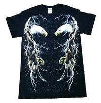 Eagles in Lightning Graphic T-Shirt - 2XL - $14.84