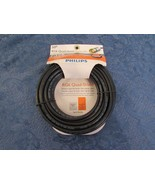 Phillips RG6 Quad Shield Coaxial Cable 50 ft. HDTV Optimized  - $19.91