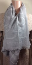 Ralph Lauren Womens Ladies Grey Cashmere / Wool Scarf Shawl RRP £530 - $372.57