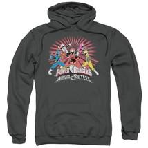 Power Rangers - Ninja Blast Adult Pull Over Hoodie Officially Licensed Apparel - $32.99+