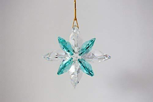 J'Leen Crystal Nautical Star Suncatcher - Clear Seafoam