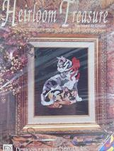 Designs for the Needle Heirloom Treasure Feline Friends No Need to Count... - $9.78
