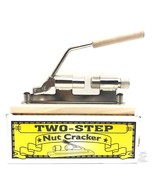 Two-Step Nutcracker Wood Base Chrome Plated New In Box - $23.99