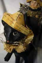 Bethany Lowe Halloween Black Cat Express image 3
