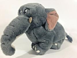 Shep Elephant Disney's George of the Jungle RARE Dark Grey Bean Bag Plush  - $59.95