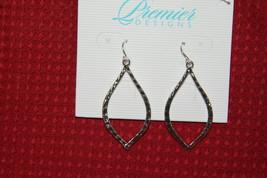 Premier Design Earrings (new) SILVER ESSENCE  (31123) - $23.00
