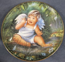Delightful New Friends Collector Plate Tiny Blessings Donna Brooks Young... - $24.95