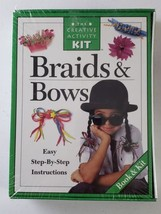 The Creativity Kit - Braids And Bows - With Step By Step Instructions - $27.71