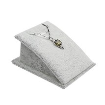 George Jimmy Gray Necklaces Display Stand Bracelets Jewelry Tray Flannel Display - $13.59