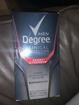 Degree Men Clinical Protection Sport Strength Deodorant 1.7 Oz 8/2020 - $8.90