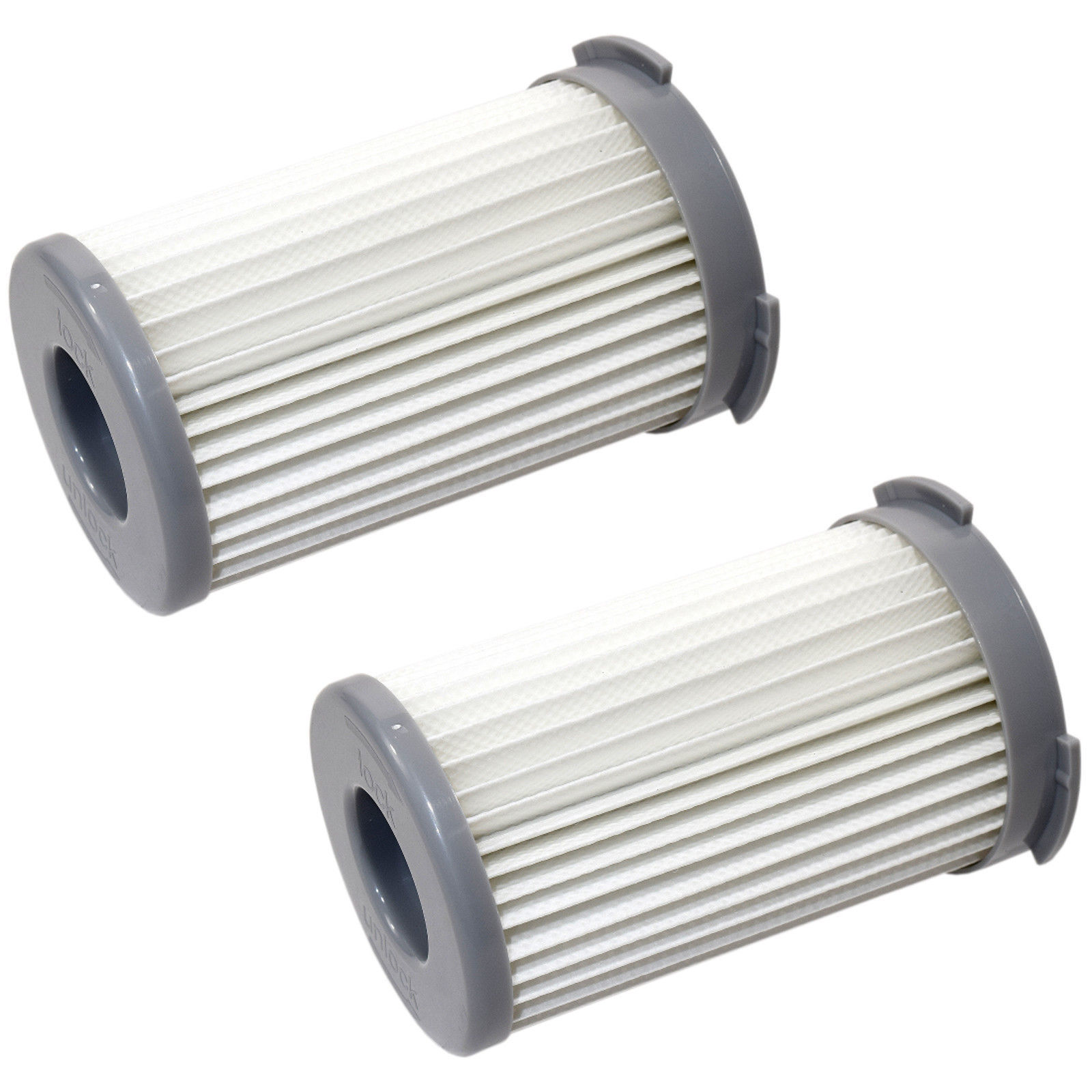 2-Pack HQRP HEPA Cartridge Filter for Electrolux EF75B, UF71B, 9001959494