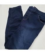 Denim & Co. Pull On Jeans 12P Blue Petite  - $15.00