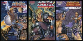 Battlestar Galactica Starbuck Comic Set 1-2-3 Lot Maximum Press Colonial... - $20.00