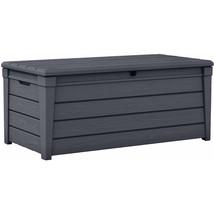 Garden Storage Box Deck Bench Plastic Container... - $163.57