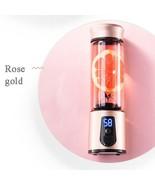 Portable Electric Juicer Blender USB Mini (Rose gold) - $60.59