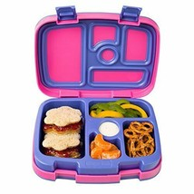 Leak Proof 5 Compartment Bento Style Kids Lunch Box Ideal Portion Sizes ... - $32.11