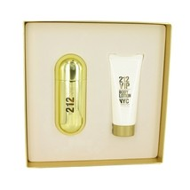 Carolina Herrera 212 VIP 2.7 Oz EDP Spray + 3.4 Oz Body Lotion 2 Pcs Gift Set  image 2