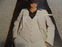 Jimmy Mcnichol teen magazine poster clipping dressed up white suit Tiger Beat