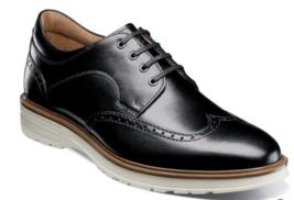 Florsheim Astor Wingtip Oxford Men's Shoes Casual Black 13339-111 - €92,29 EUR