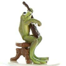 Hagen Renaker Miniature Frog Froggy Mountain Breakdown Banjo Ceramic Figurine image 5