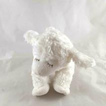 "Gund lamb Winky Plush soft built in rattle huggable 6"" x 8"" - $7.91"