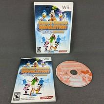 Dance Dance Revolution Disney Grooves Nintendo Wii 2009 Complete - $14.46