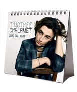 Timothee Chalamet Desktop Calendar 2020 NEW + FREE GIFT 3 Stickers Sexy Hot Man - $15.99