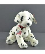 Ty 2001 FDNY Original 9/11 Rescue Dalmatian Beanie Baby NYPD FDNY Retired  - $12.86