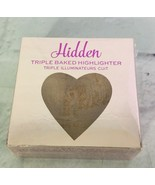 I Heart Revolution Triple Baked Highlighter Bronzer Glow Hearts Hidden 0... - $10.29