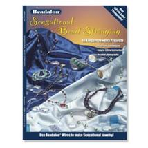 Beadalon Sensational Bead Stringing Book by Katie Hacker beading craft b... - $5.99