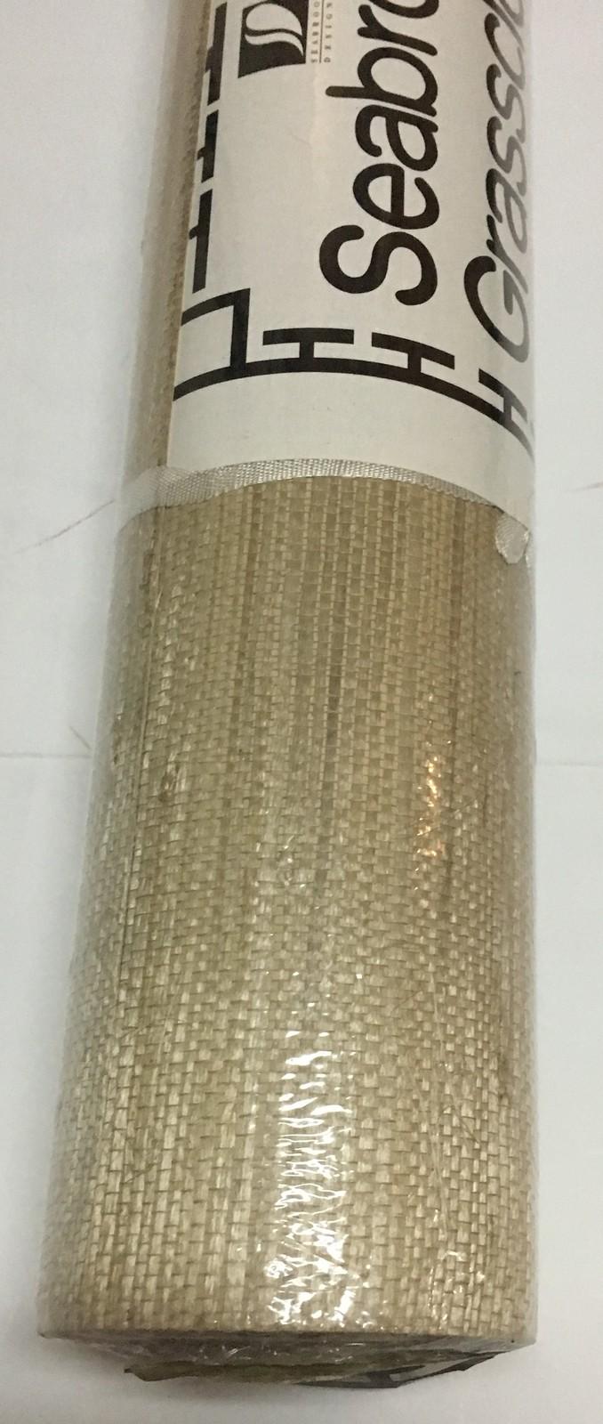 Seabrook Tan Grasscloth Wallpaper DOUBLE ROLL 36 in. x 8 yds. 72 sq.ft. GR367Z
