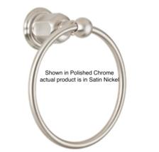 California Faucets Montecito Multi-Series Towel Ring in Satin Nickel 34-... - $69.25