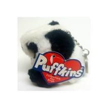 Puffkins Plush Collectible Key Ring - Peter The Panda - $13.49