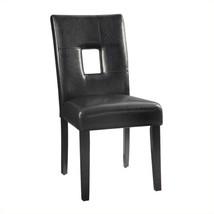 Coaster Newbridge Dining Chair in Black (set of 2) Transitional   - $197.98