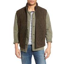 Bown Men Suede Leather Vest