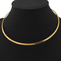 Necklaces, vintage Platinum / 18K Real Gold Plated Torques N227 - $22.99