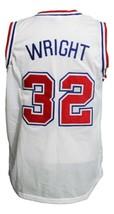Monica Wright Vigo Love And Basketball Jersey New Sewn White Any Size image 2