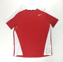 Nike Stock Vapor Select 1 Button Softball Jersey Women's Medium Red Whit... - $19.30