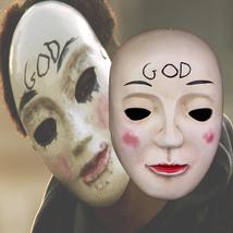The Purge Mask Helmet Halloween Cosplay Season Resin GOD - $64.35 CAD