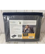 """Quility Premium Removable Cotton Cover for Weighted Blanket 60"""" x 80"""" Gray - $24.04"""