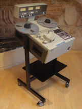 NEW CUSTOM Cart Stand Sony APR- Studer A- Reel Recorder - $287.05