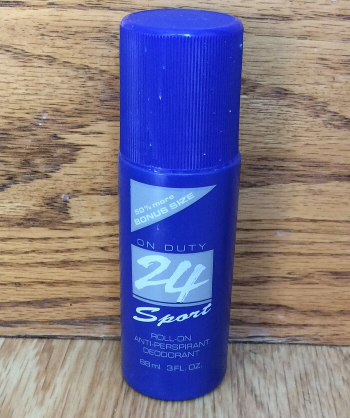 Primary image for Avon On Duty 24 Sport roll on antiperspirant deodorant 50% more 3oz bonus sz NEW