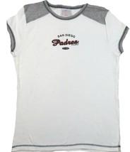 Junior Women's San Diego Padres Shirt 5th & Ocean MLB Baseball Tee T-Shirt
